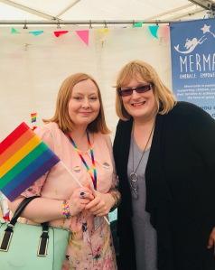 Grampian Pride 2018 Annie Wallace