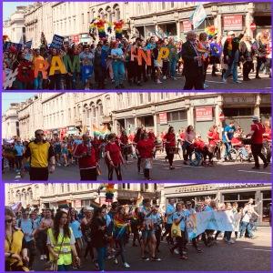 Grampian Pride 2018 parade