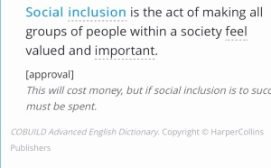 Social inclusion definition