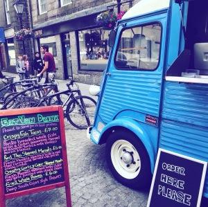 Street food market Aberdeen