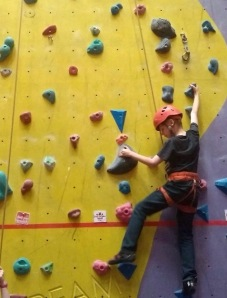 Transition Extreme Aberdeen climbing wall party