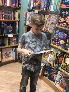 Waterstones reading