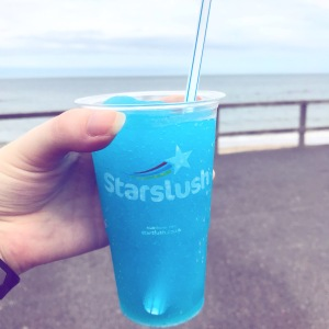 Aberdeen beach slushy drink