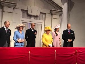 Madame Tussaud's London royal family