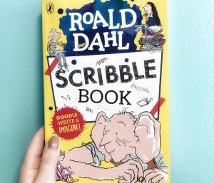 Roald Dahl Day scribble book