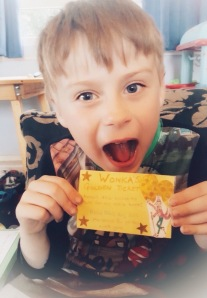 Roald Dahl Day golden ticket