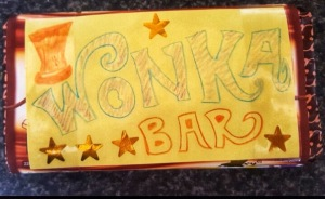 Roald Dahl Day Wonka bar