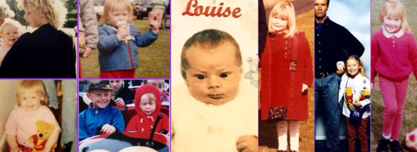 Photos of Louise as a child