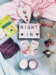 Night in - pamper night with face masks, nail polish and more