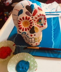 Paint your own sugar skull