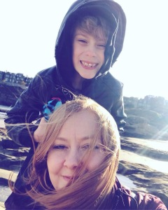 Louise and Nathan at St Andrews