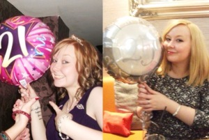 21st and 25th birthday celebrations