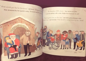 The Christmas next door book from owlet Press