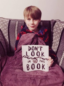 Nathan with don't look in this book