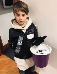 Nathan volunteering and fundraising for charity