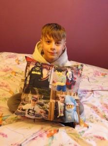 Tesco Photo personalised gift - cushion