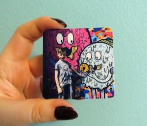 Tesco Photo personalised gift -magnet