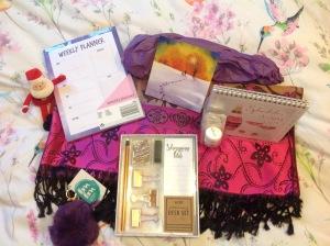 Blogger's Secret Santa present