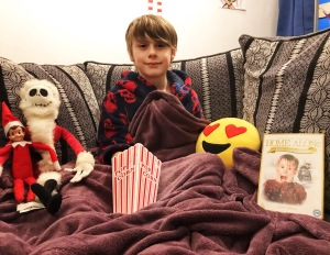 Top 10 Christmas films to watch at home - Nathan ready to watch home alone