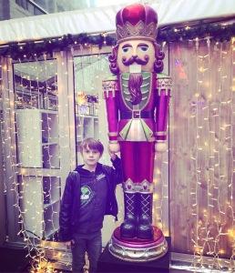 Nathan at Aberdeen Christmas village