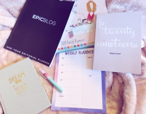 2019 planners and organisers
